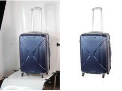 Вырезаю чемоданы