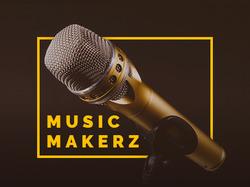Music Makerz адаптивный сайт.