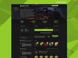 Дизайн сайта cs go рулетки