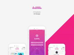 Dribbble Design App