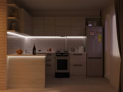 Проек кухни