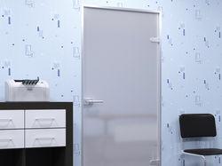 Визуализация стеклянных дверей
