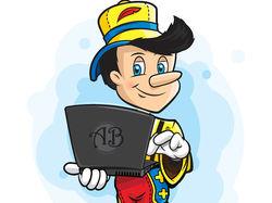 Иллюстрация: Анонимный врунишка (Пинокио)
