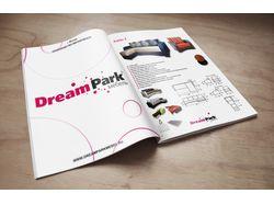 Разработка каталога для мебельной фабрики