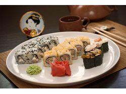 Food фотография для суши ресторана