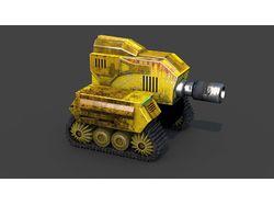 3D модель танка для игры