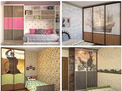 Шкафы купе для детской комнаты