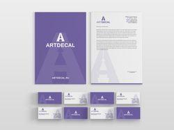 Фирменный стиль интернет-магазина «ArtDecal»