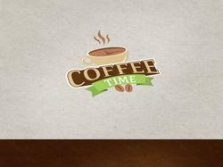 Логотип Coffee time