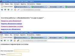 Система работы с сайтом irr.ru