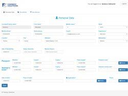 Веб приложение для Fairway Solutions