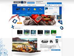 Адаптивный Simpla магазин игр и игровых приставок