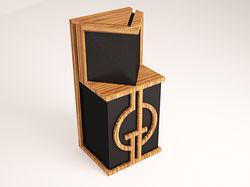 3D дизайн звуковых колонок