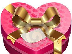 Иллюстрация коробки конфет в Adobe illustrator.