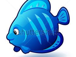 Забавная рыбка #shutterstock
