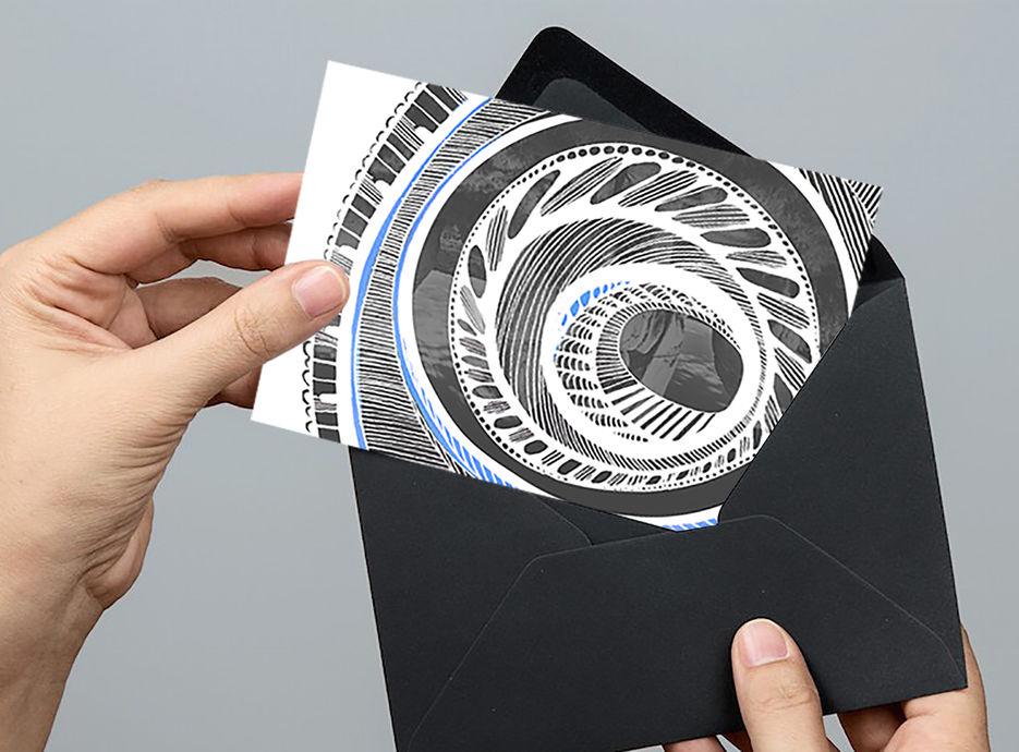 Работа по дизайну открыток