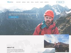 Mountains Landing Page