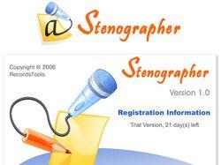 Logotype for Stenographer