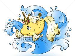 Новая иллюстрация. Золотая рыбка.