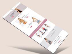 Дизайн интернет-магазина женских боди Boby