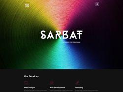 Верстка макета Sarbat