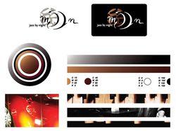 """Логотип кафе Jazz-cafe """"Moon"""""""