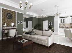 Дизайн-проект и визуализация квартиры-студии