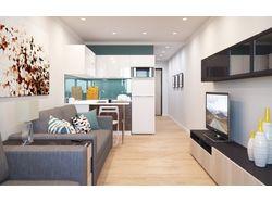 Разработка и 3д визуализация интерьера квартиры
