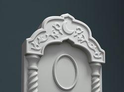 3D модель мусульманского памятника.