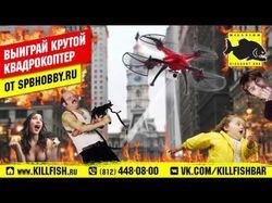 Рекламный ролик акции для KillFish