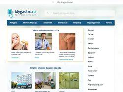 Размещение статей mygastro.ru / CMS WodrPress /