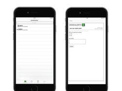 Приложение DeskAlerts для IOS