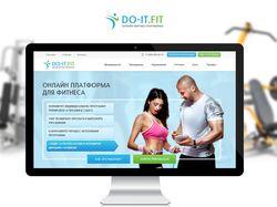 Do-it.fit - Онлайн фитнес-платформа