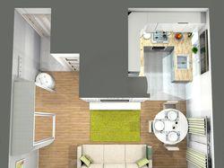Дизайн-проект 23м.кв