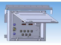 Люки вентиляции и силовых вводов в аппаратную