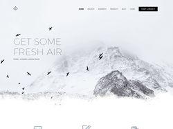 Landing Page Frash-air