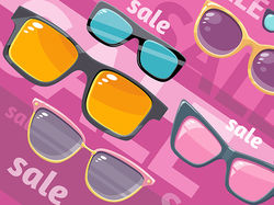Sun glasses sale sets