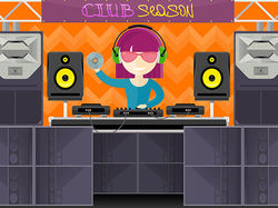 Club season vector illustration