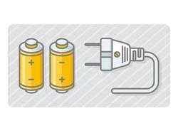Plug and battery