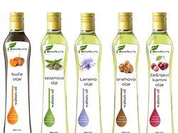 дизайн упаковки масла растительные
