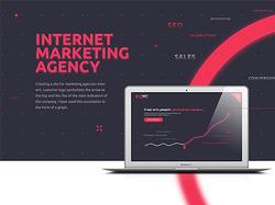 Агенство интернет маркетинга. Сайт компании.
