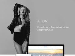 Адаптивный интернет магазин одежды