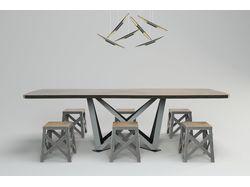 Предметная визуализация стола