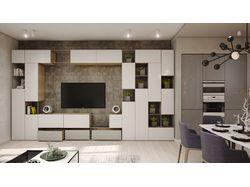 Дизайн 3-х комнатной квартиры в Казани
