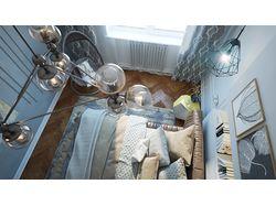 Дизайн 2-х комнатной квартиры в Москве
