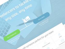 UI-Дизайн для прибалтийской биржи фриланса