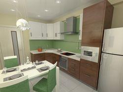 Кухня (2 варианта дизайна для заказчика)