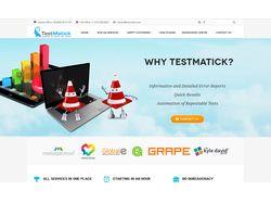 TestMatick Corporate Site