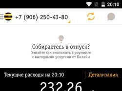 RadmadRobot. Beeline mobile app