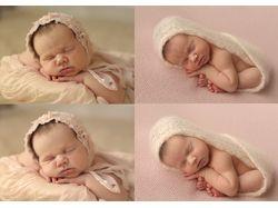ретушь фотографий младенцев